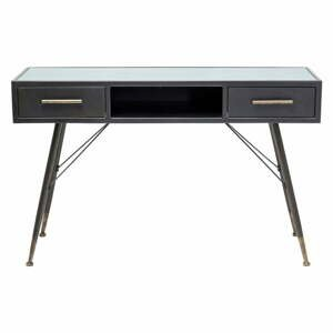 Čierny konzolový stolík Kare Design La Gomera