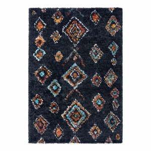 Čierny koberec Mint Rugs Phoenix, 120 x 170 cm