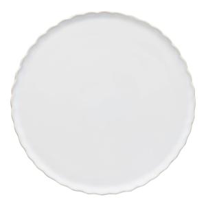 Biely kameninový dezertný tanier Casafina Forma, ⌀ 20 cm