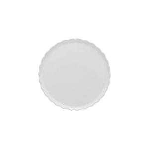 Biely kameninový dezertný tanier Casafina Forma, ⌀ 16 cm