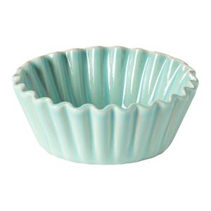 Svetlozelená kameninová forma na muffin Casafina Forma, ⌀ 13 cm
