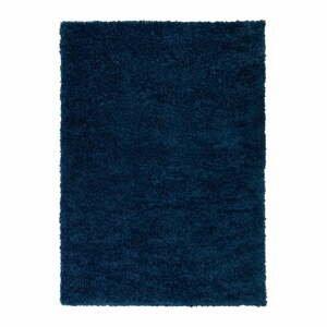 Tmavomodrý koberec Flair Rugs Sparks, 60 x 110 cm