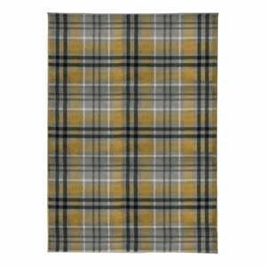 Žlto-sivý koberec Flair Rugs Highland, 200 x 290 cm