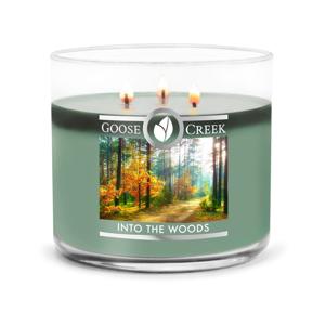 Vonná sviečka v sklenenej dóze Goose Creek Into the Woods, 35 hodín horenia
