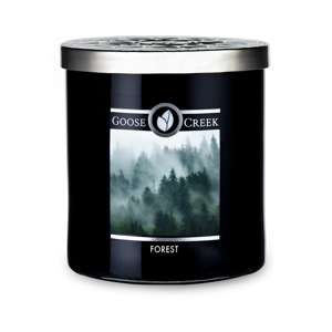 Vonná sviečka v sklenenej dóze Goose Creek Men 'Collection Forest, 50 hodín horenia