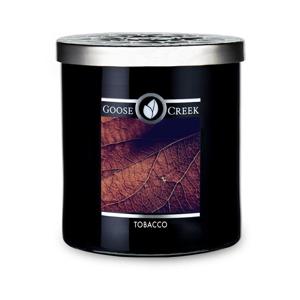Vonná sviečka v sklenenej dóze Goose Creek Men 'Collection Tobacco, 50 hodín horenia