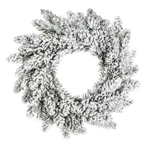 Vianočný veniec DecoKing Anne Snieg