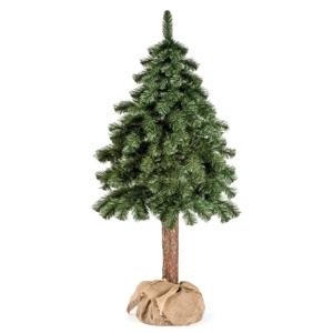 Umelý vianočný stromček DecoKing Cecilia on a stump, 1,5 m