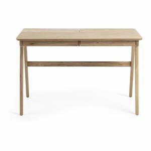Pracovný stôl La Forma Jakes Natural, 120 x 65 cm