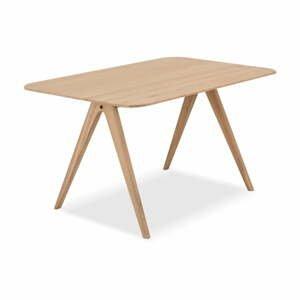 Jedálenský stôl z dubového dreva Gazzda Ava, 90 x 140 cm