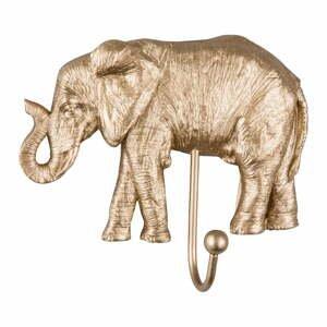 Vešiak v zlatej farbe Leitmotiv Elephant