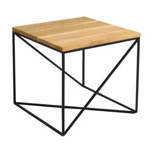 Konferenčný stolík v dekore dubového dreva Custom Form Memo, 50 x 50 cm