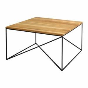 Konferenčný stolík v dekore dubového dreva Custom Form Memo, 80 x 80 cm
