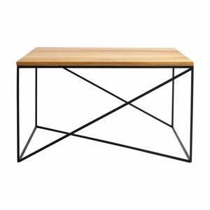 Konferenčný stolík v dekore dubového dreva Custom Form Memo, 100 x 100 cm