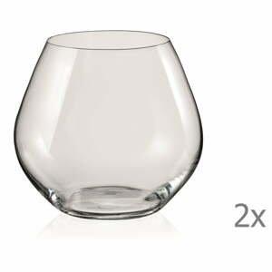 Súprava 2 pohárov Crystalex Amoroso, 440 ml