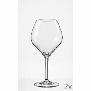 Súprava 2 pohárov na víno Crystalex Amoroso, 350 ml