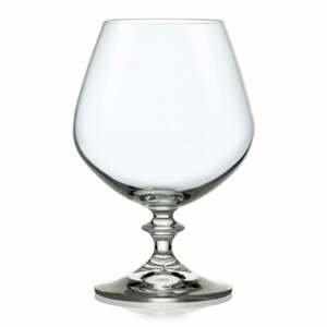 Súprava 6 pohárov na brandy Crystalex Angela, 400 ml