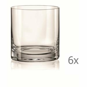 Súprava 6 pohárov na whisky Crystalex Barline,280ml