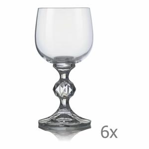 Súprava 6 pohárov na víno Crystalex Claudia, 150 ml