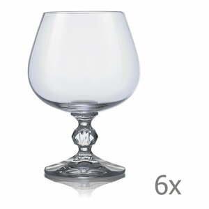 Súprava 6 pohárov na brandy Crystalex Claudia, 250 ml