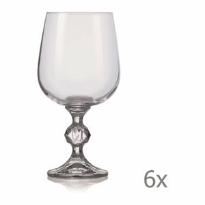 Súprava 6 pohárov na víno Crystalex Claudia, 340 ml