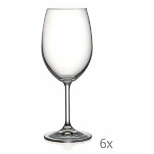 Súprava 6 pohárov na víno Crystalex Lara, 350 ml