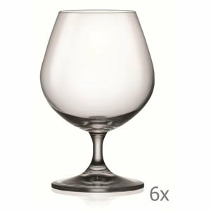 Súprava 6 pohárov na brandy Crystalex Lara, 400 ml