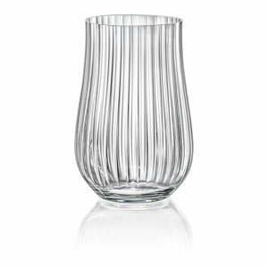 Súprava 6 pohárov Crystalex Tulipa Optic, 450 ml