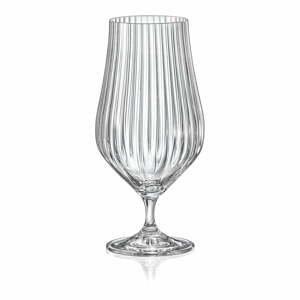 Súprava 6 pohárov na pivo Crystalex Tulipa Optic, 540 ml