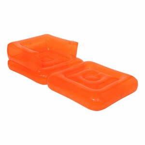 Oranžové nafukovacie ležadlo Sunnylife Pomelo