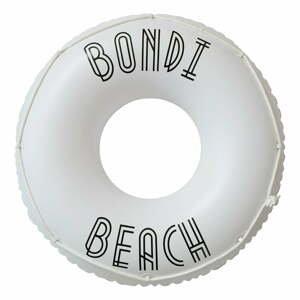 Biely nafukovací kruh Sunnylife Bondi