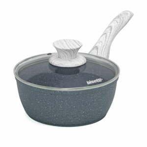 Sivá rajnica s pokrievkou Bisetti Pierrom Gourmet, ø 18 cm