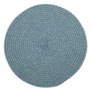 Modré prestieranie s prímesou bavlny Tiseco Home Studio, ø 38 cm