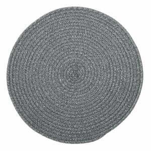 Sivé prestieranie s prímesou bavlny Tiseco Home Studio, ø 38 cm
