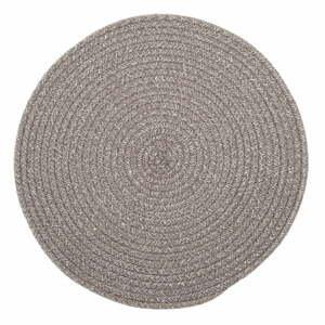 Hnedé prestieranie s prímesou bavlny Tiseco Home Studio, ø 38 cm