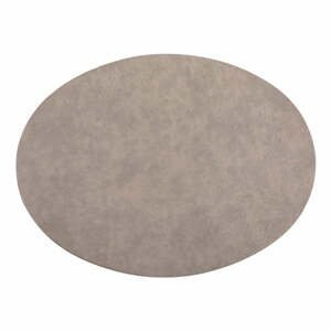 Sivé prestieranie z imitácie kože ZicZac Troja, 33 x 45 cm