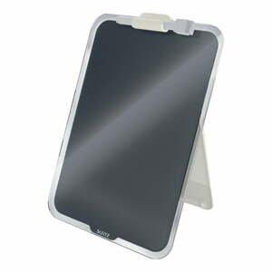 Čierny sklenený flipchart na stôl Leitz Cosy, 22 x 30 cm