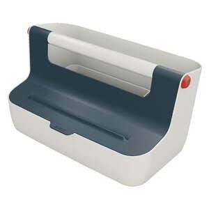 Sivá prenosná škatuľa s organizérom Leitz Cosy