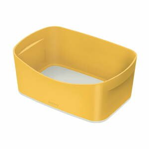 Žltá stolová škatuľa Leitz Mailorder, objem 5 l