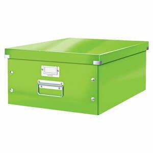 Zelená úložná škatuľa Leitz Universal, dĺžka 48 cm