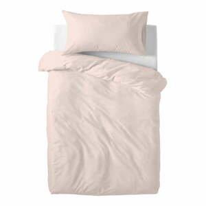 Ružové detské bavlnené obliečky Happy Friday Basic, 100 x 120 cm