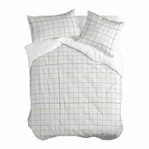 Bavlnená obliečka na perinu Blanc Tartan, 200 x 200 cm