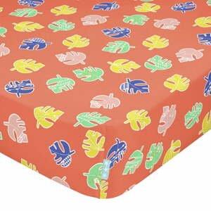 Detská bavlnená plachta Moshi Moshi Geo Jungle, 70 x 140 cm