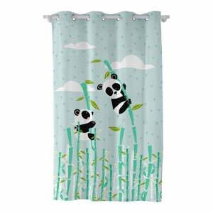 Detský bavlnený záves Moshi Moshi Panda, 135 x 180 cm