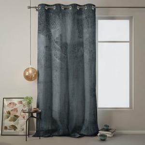 Sivý záves AmeliaHome Velvet, 140 x 270 cm