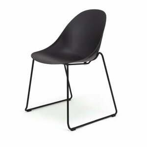 Súprava 2 čiernych jedálenských stoličiek Le Bonom Viva
