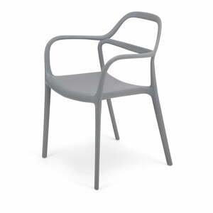 Súprava 2 sivých jedálenských stoličiek Le Bonom Dali Chaur