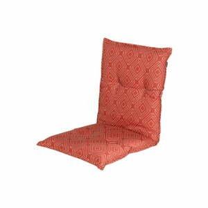 Červeno-oranžový zahradný sedák Hartman Bibi, 100 x 50 cm