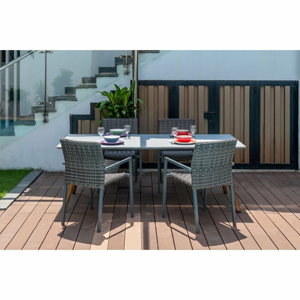 Záhradná súprava 4 stoličiek a stola Ezeis Clipper