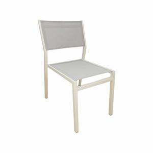 Súprava 4 záhradných stoličiek s hliníkovou konštrukciou Ezeis Calypso
